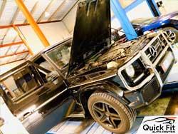 Mercedes G63 Engine Service at Quick Fit Auto Center