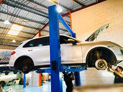 Brake Oil Change for Porsche Cayenne at Quick Fit