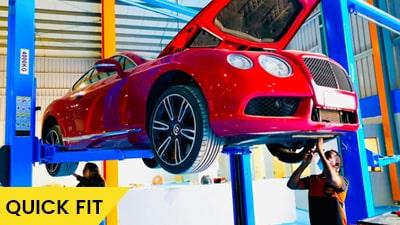 Bentley Continental GT Suspension Service Abu Dhabi