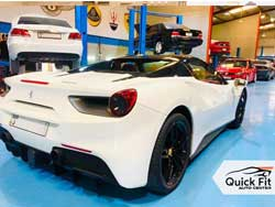 Ferrari 488 Spyder Center View Mirror Fixing at Quick Fit Auto