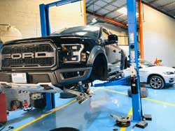 Ford Suspension Service is going at Quick Fit Auto Center