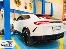 Lamborghini Urus 2019 Oil Change Service At Quick Fit
