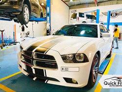 Alloygator Installation for Dodge in Abu Dhabi