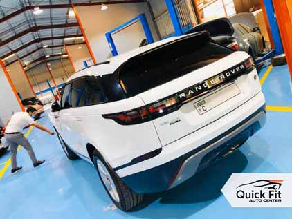 Range Rover Full Inspection and Steering Service