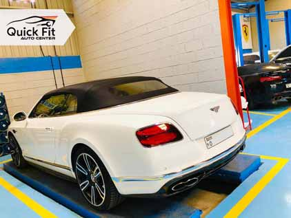 Bentley AC, Tyres and Steering Service at Quick Fit