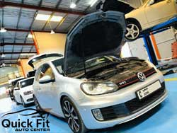 Volkswagen Inspection and Major Service at Quick Fit