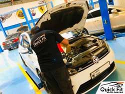 Volkswagen Engine Oil Change Service ig going on