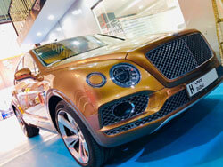 Bentley Interior and exterior detailing