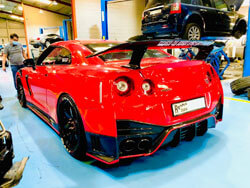 Nissan GTR Auto Detailing and Pre Purchase Inspection