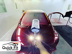 Car Painting Workshop Abu Dhabi