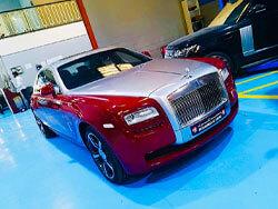 Rolls Royce detailing specialists