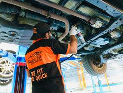 Toyota Tundra Undercoating Service