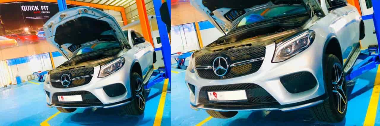 Mercedes GLE 43 Brakes Service Banner