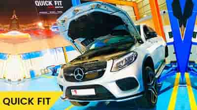 Mercedes GLE 43 Brakes Service Feature