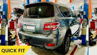 Nissan Patrol Oil change feature