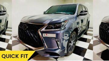 Lexus Lx 570 bodywork feature image