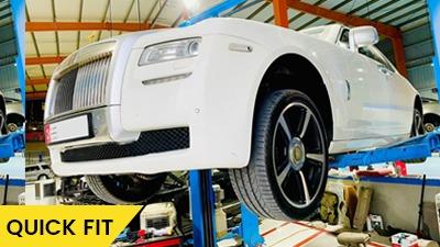 Rolls Royce Ghost oil leakage feature